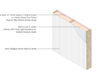 Magply Timber frame PIR 3D